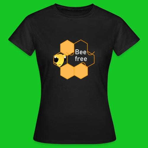 Bee Free dames t-shirt - Vrouwen T-shirt