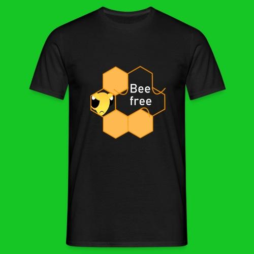 Bee Free mannen t-shirt - Mannen T-shirt