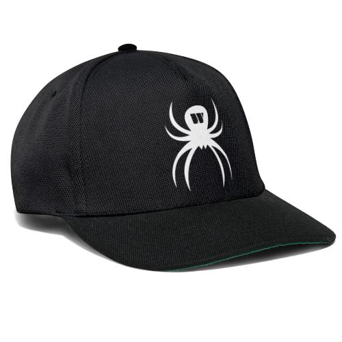 White Spider Snapback Cap - Snapback Cap