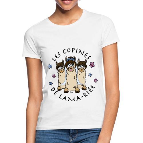T-shirt Copines de Lama riée Lama mariage EVJF - T-shirt Femme