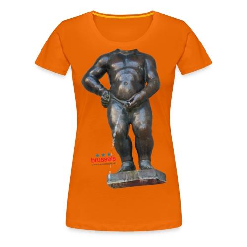 REAL BiG mannekenpis  | ♀♂ - T-shirt Premium Femme