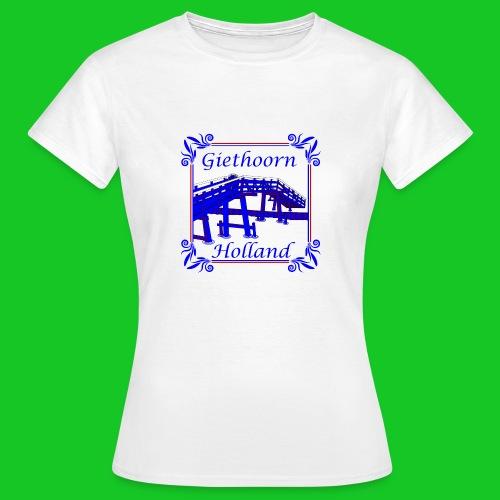 Giethoorn dames t-shirt - Vrouwen T-shirt