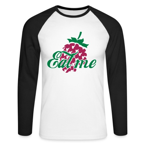 Strawberry - T-shirt baseball manches longues Homme