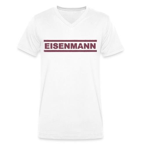 EISENMANN - Die Box-Band - Männer Bio-T-Shirt mit V-Ausschnitt von Stanley & Stella