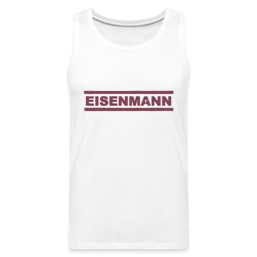 EISENMANN - Die Box-Band - Männer Premium Tank Top