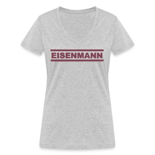 EISENMANN - Die Box-Band - Frauen Bio-T-Shirt mit V-Ausschnitt von Stanley & Stella