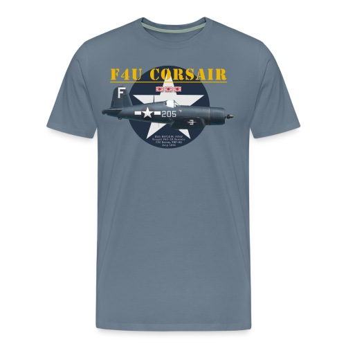 F4U Corsair Hedrick - Men's Premium T-Shirt