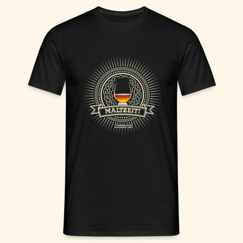 Single Malt Whisky T Shirt Maltzeit! - Männer T-Shirt