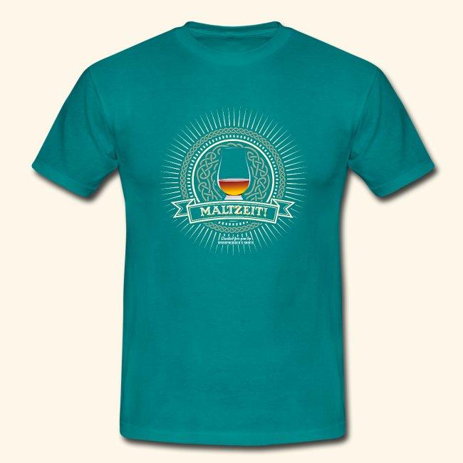 Single Malt Whisky T Shirt Maltzeit!