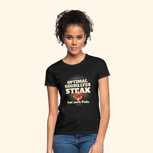 Grill T Shirt Steak mit Puls