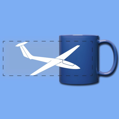 Segelflieger T-Shirt Segelflugzeug Cobra - Full Color Panoramic Mug