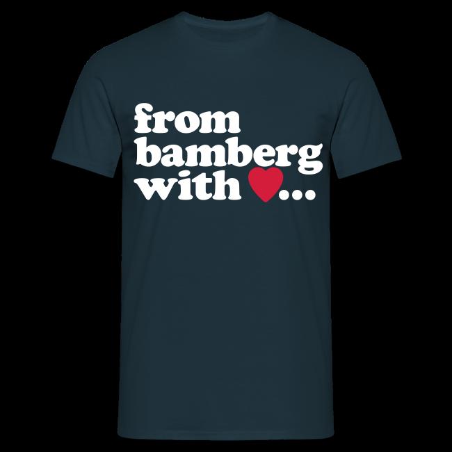 from bamberg with love... - Kompromisslos klassisch für Herren - #BAMBERG