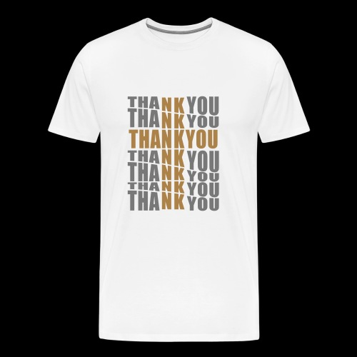 THANK YOU - Men's Premium T-Shirt