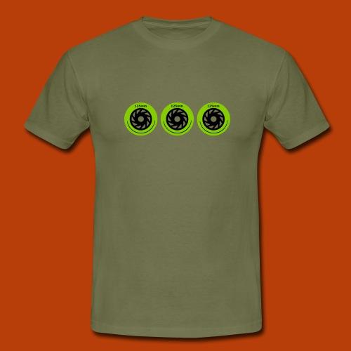 3 x 125mm - Männer T-Shirt