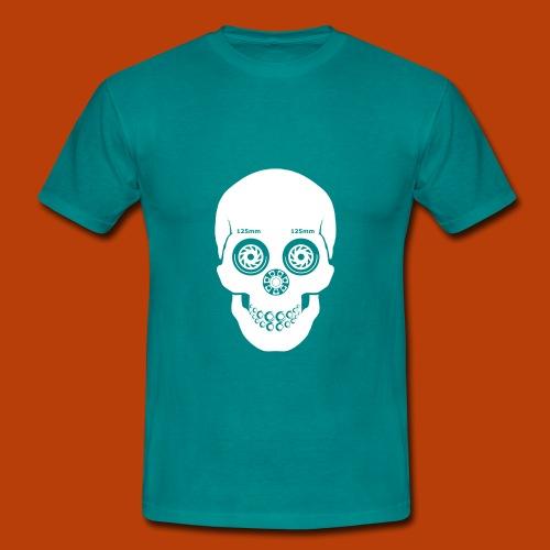 Skull Skating White 125mm - Männer T-Shirt