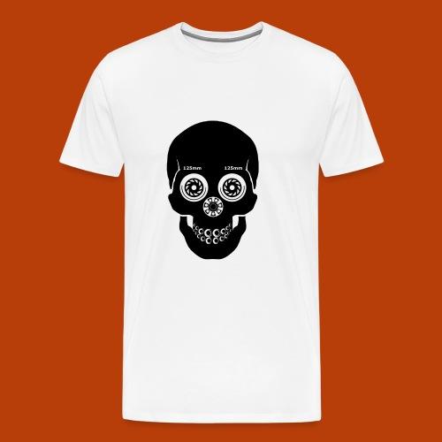 Skull Skating Black - Männer Premium T-Shirt