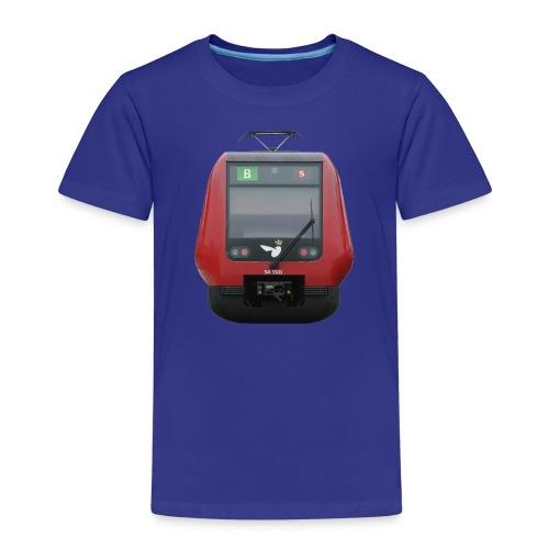 S-Tog linie B for Barn - Børne premium T-shirt