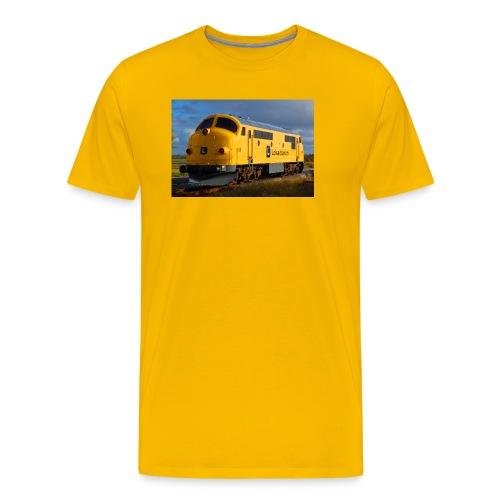 Lokalbanen MX 16 - Herre premium T-shirt