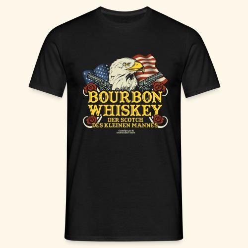 Whisky T Shirt Bourbon   Scotch des kleinen Mannes - Männer T-Shirt