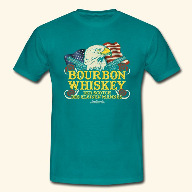 Whisky T Shirt Bourbon | Scotch des kleinen Mannes