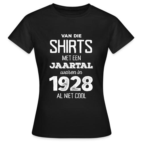 Shirt met een jaartal vrouwen t-shirt - Vrouwen T-shirt