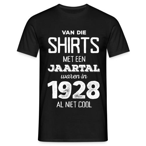 Shirt met een jaartal mannen t-shirt - Mannen T-shirt