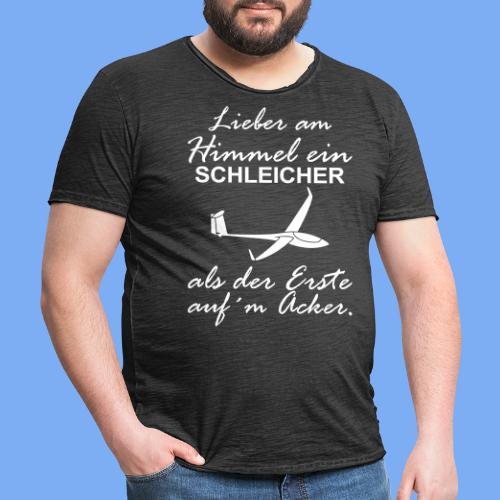 lustiger Insider Spruch für Segelflieger und Segelflugzeugführer - Segelflieger Tshirt - Men's Vintage T-Shirt