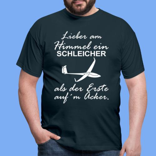 lustiger Insider Spruch für Segelflieger und Segelflugzeugführer - Segelflieger Tshirt - Men's T-Shirt