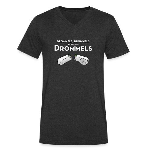 Drommels mannen v-hals bio - Mannen bio T-shirt met V-hals van Stanley & Stella