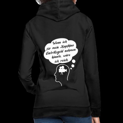Lustiger Kopfkino Spruch T-Shirt Hoodie - Frauen Hoodie