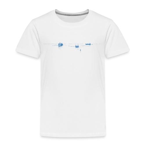 Auf See (blau) - Kinder Premium T-Shirt