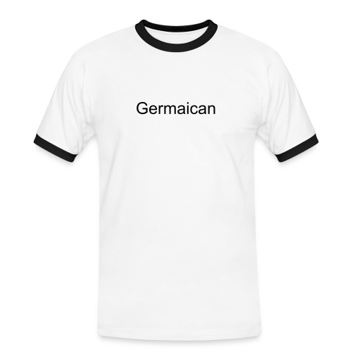 Germaican Shirt mit Text - Männer Kontrast-T-Shirt