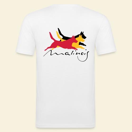 Malinois belgian colors - Männer Slim Fit T-Shirt