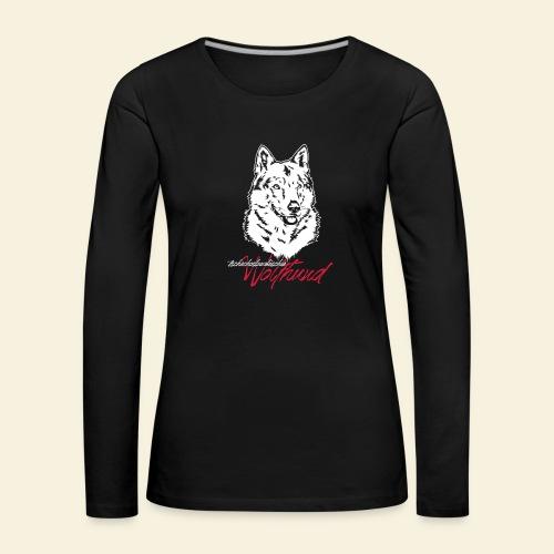 tschechoslowakischer Wolfhund (TWH) - Frauen Premium Langarmshirt