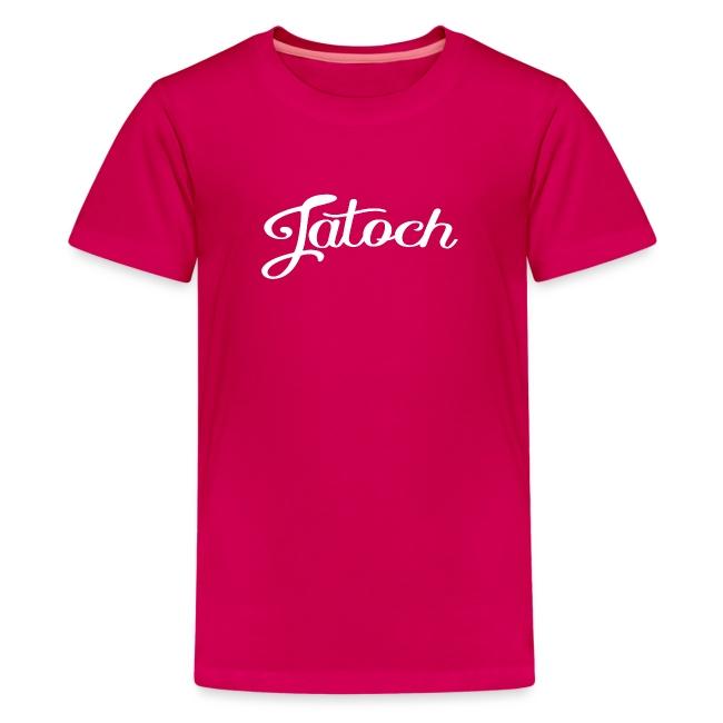 Jatoch tiener premium t-shirt