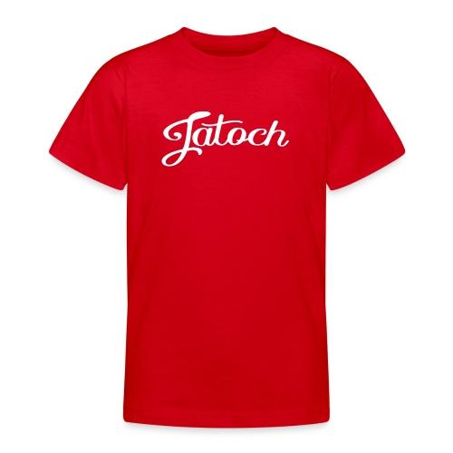 Jatoch tiener t-shirt - Teenager T-shirt