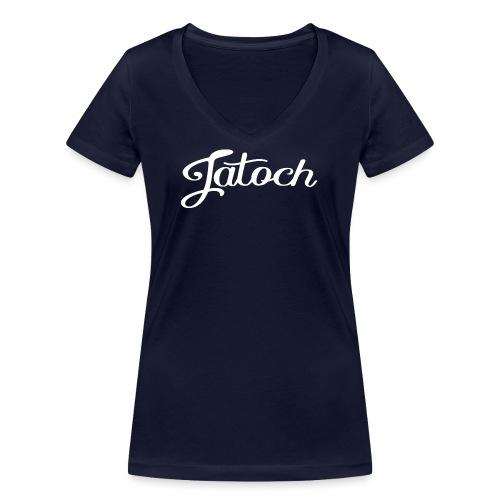 Jatoch vrouwen v-hals bio - Vrouwen bio T-shirt met V-hals van Stanley & Stella