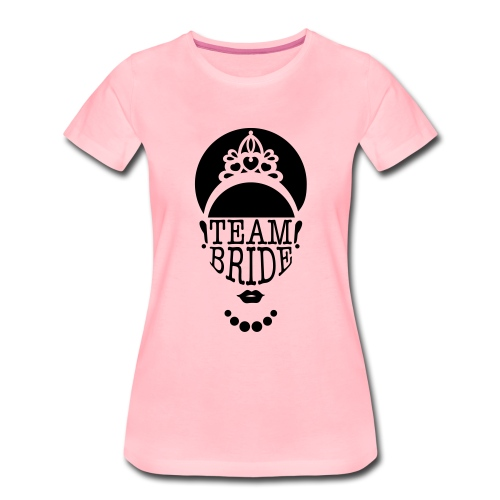 team bride vrijgezellenfeest - Vrouwen Premium T-shirt