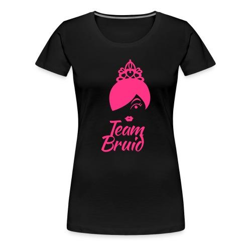 Team bruid vrijgezellenfeest - Vrouwen Premium T-shirt