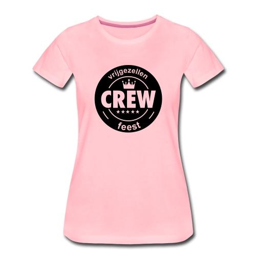 vrijgezellenfeest crew - Vrouwen Premium T-shirt
