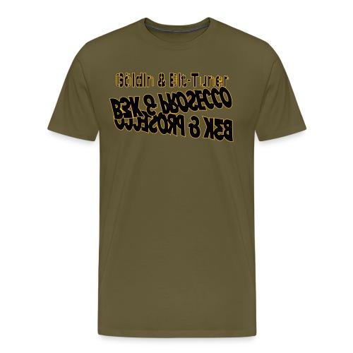 B3K & Prosecco - Männer Premium T-Shirt