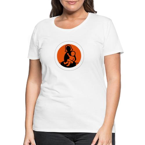 Frau mit Kind - Women's Premium T-Shirt