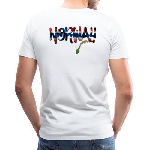 Mens Norsk - Norway Premium T-shirt - Premium T-skjorte for menn