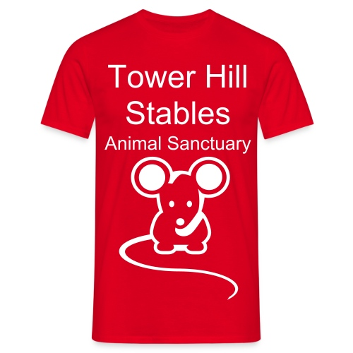 Tower Hill Mouse - Choose your own colour Tee - Men's T-Shirt