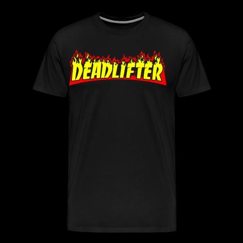 DEADLIFTER - BARBELL SMASHER - Men's Premium T-Shirt