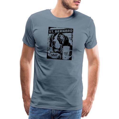 Bière du Grand Saint-Bernard - T-shirt Premium Homme