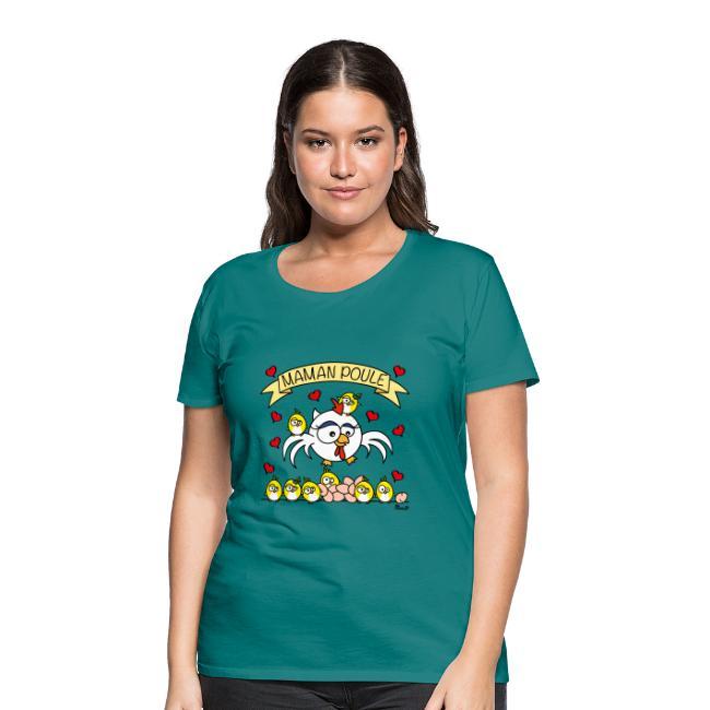 T-shirt Maman Poule, Fête des Mères
