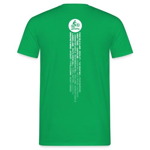 MBS Places Stripe (White) - Men's T-Shirt