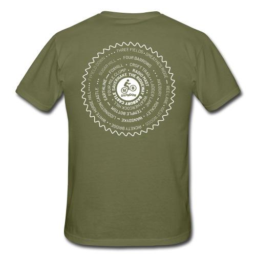 MBS Places Cassette white - Men's T-Shirt