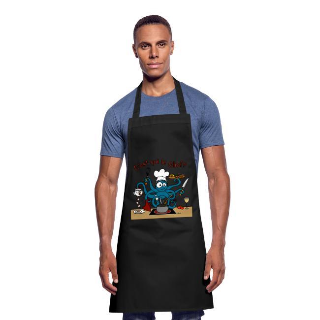 Tablier de cuisine Pulpe, C'est qui le Chef? Fête des Mères